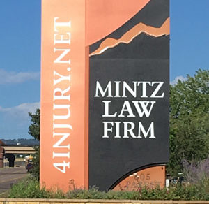 Mintz Law Firm outdoor signage